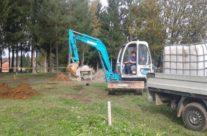 Gradnja dječjeg igrališta u naselju Zdenac kod vatrogasnog doma u punom je tijeku