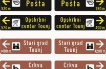 Postavljena turistička signalizacija u naselju Zdenac